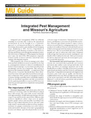 IPM1001: Integrated Pest Management and Missouri's Agriculture