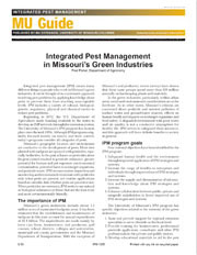 IPM1005: Integrated Pest Management in Missouri's Green Industries
